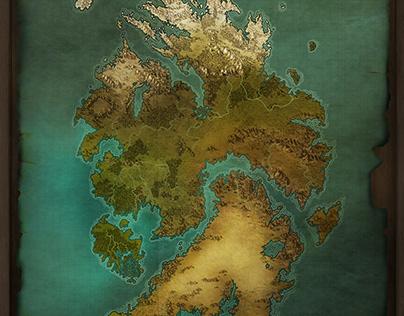 Fantasy World Maps