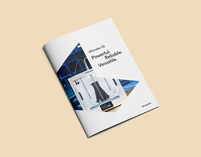 Ultimaker S5 brochure