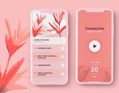 PureMind | iOS app and illustrations