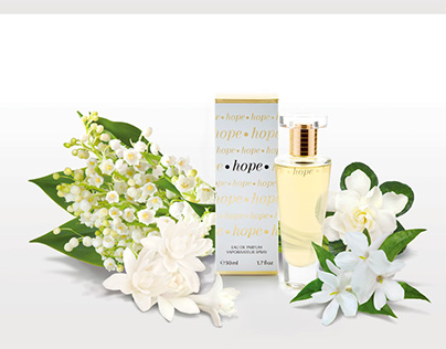 fragrance and flowers, photography and retouching