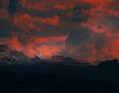 When Sky Feels Blood