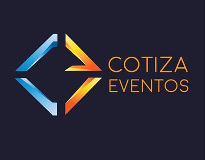 Cotiza eventos Logo Design