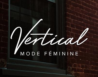 Vertical Mode Féminine Branding