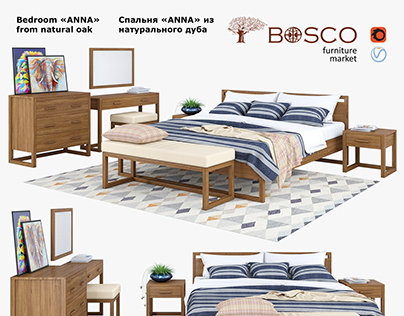 3d modeling & 3d visualization Bosco, Anna