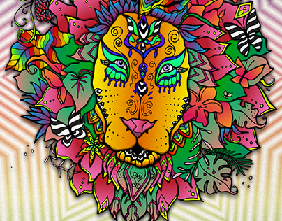 Blooming Lion - Mr. Sun X Patima