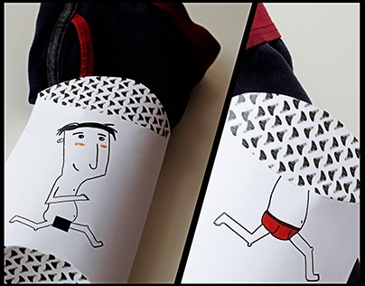 Underpants packaging