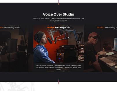 VoiceOver Website