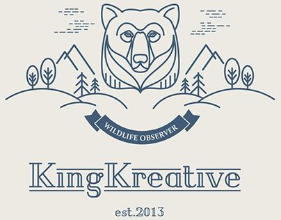 KingKreative Logo Studies
