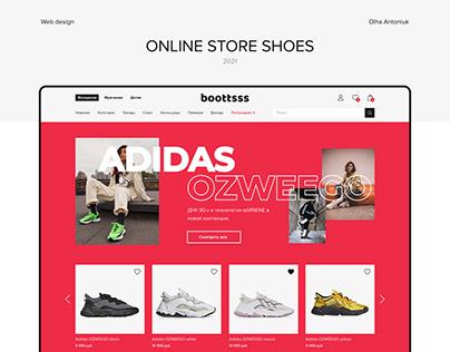 Дизайн сайта интернет-магазина