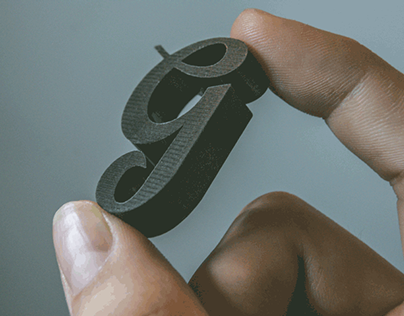3D Glyph Creation | Typography