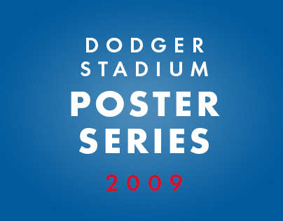 Dodger Stadium Poster Series