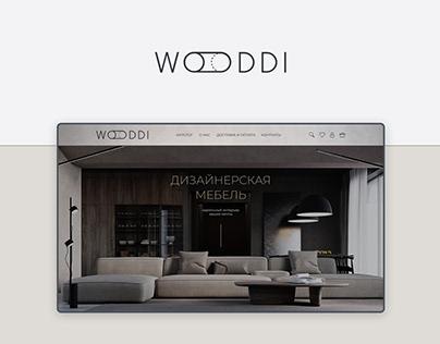 Wooddi furniture store concept