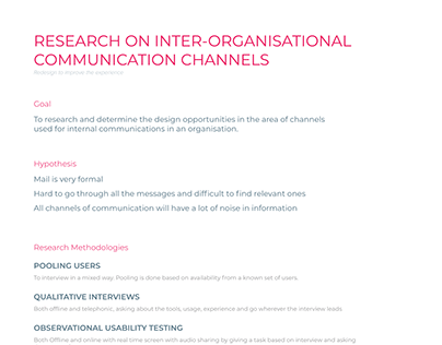 Communication channels used in organisations