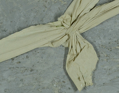 Three studies with fabric