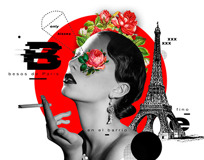 Roses / Collage