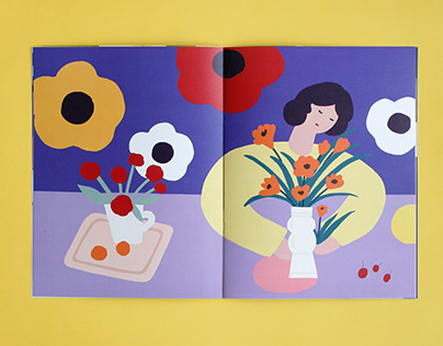 Self-Publishing Zine - Floral