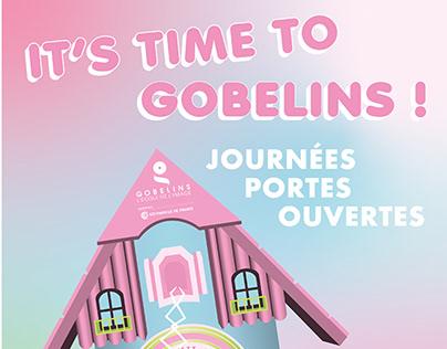 Teaser Journées Portes Ouvertes de Gobelins - Kitsch