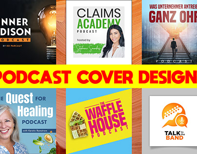 Professional Podcast Cover Designs
