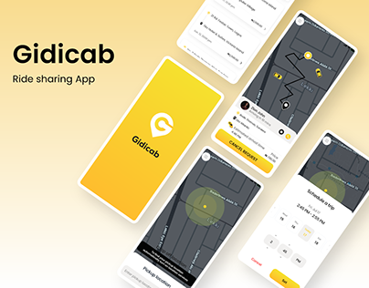 Gidicab - Designing a ride sharing mobile app