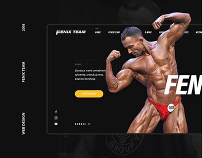 Fenix Team - Web Design