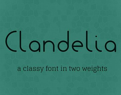 Clandelia Font Duo