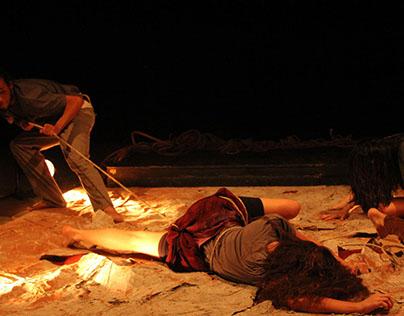 Teatro: Descrição de Imagem