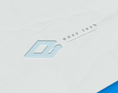 easy tech Logo Design