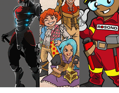 Character Design (Various)