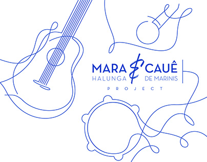 Mara & Caue Visual Identity and Communication proposal.