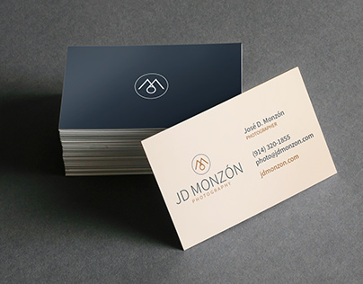 JD Monzon Photography Logo and Business Cards