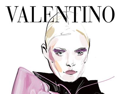 Art Inspired by Valentino