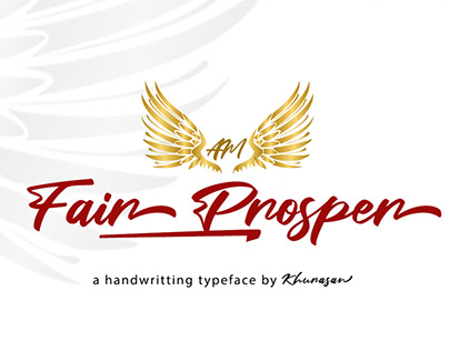 Free Fair Prosper Handmade Font
