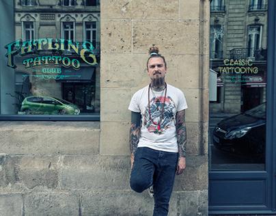Twix - Fatline Tattoo Club - Bordeaux