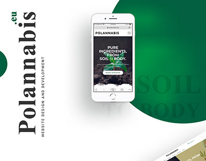 Polannabis.eu - Responsive Website design