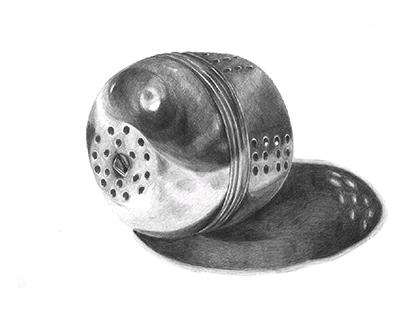 Pencil Study (Tea Ball)