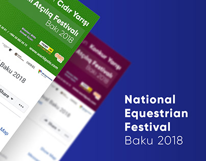 National Equestrian Festival - Baku 2018