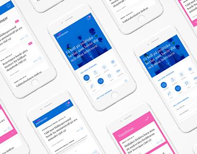 POLITIKKOLLEN UX/UI & branding