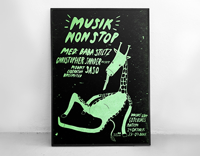 Poster for Musik Non Stop