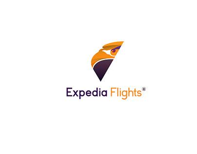 Expedia Flights | Logo Design