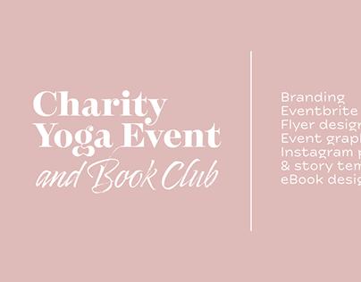 Charity Yoga Event (Graphic Design)