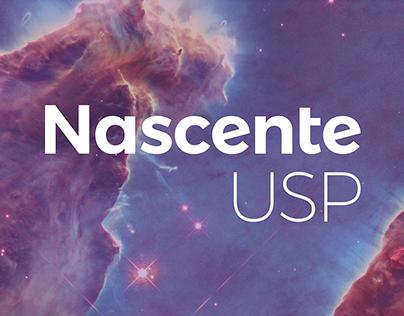 Nascente USP - Identidade visual e comunicação