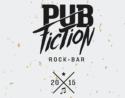 Poster for Pulp Fiction themed pub
