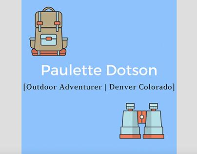 Paulette Dotson - Wordpress Blog - Outdoors
