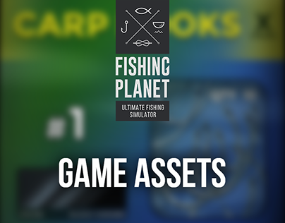 Fishing Planet: Game assets