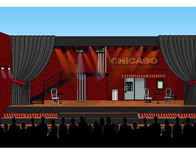 Chicago stage set design