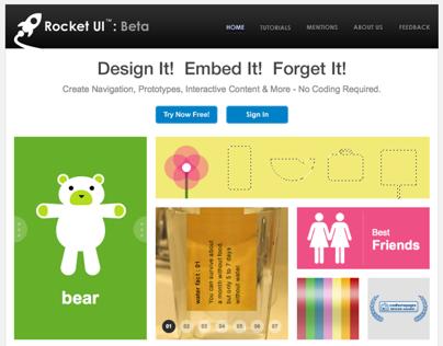 2010 - RocketUI Website