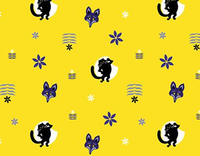 Pattern design (Kacor király)