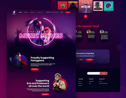 Landing Page - MusicMoves Entertainment