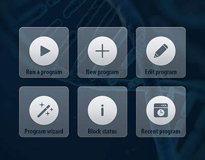 PCRMax Interface Design