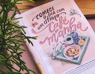 Lettering + Ilustração • O Que Eu Aprendi Até Agora